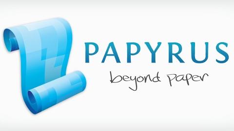 Papyrus  Android uygulaması ile dokunmatik kalemler daha işlevsel