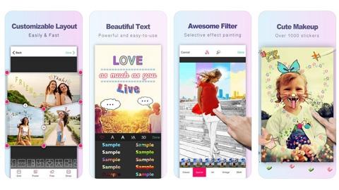 Photo Collage - Perfect Image iOS Fotoğraf Editleme Uygulaması