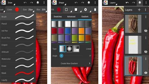 PhotoSuite 4 Android Fotoğraf Düzenleme Uygulaması