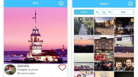 Piri Mapp iOS Uygulaması