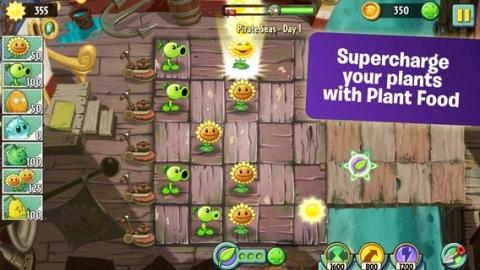 Plants vs. Zombies 2, beş günde 16 milyon kez indirildi