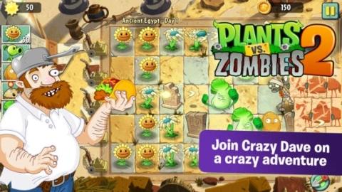 Plants vs. Zombies 2, iOS için dünya genelinde indirmeye sunuldu