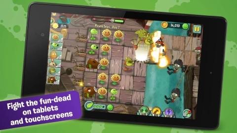 Plants vs. Zombies 2'nin Android sürümü Play Store'de indirmeye sunuldu