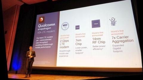 Qualcomm, 2 Gigabit hıza ulaşabilen yeni 4G LTE modem çipini duyurdu
