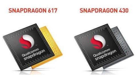 Qualcomm Snapdragon 430 ve Snapdragon 617 çipsetleri tanıtıldı