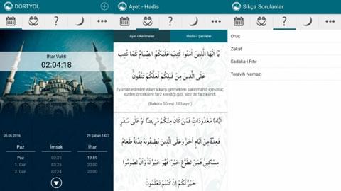 Ramazan Rehberi iOS Uygulaması