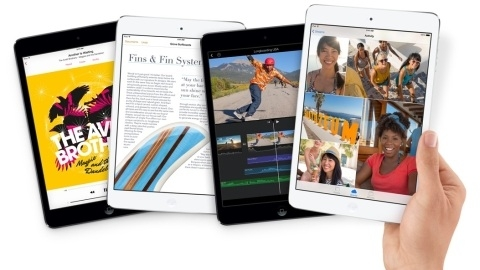 Retina ekranl� Apple iPad mini sat��a sunuldu