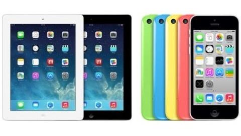 iPad 2 satıştan kaldırıldı, iPad 4 ve 8 GB iPhone 5c piyasaya sürüldü