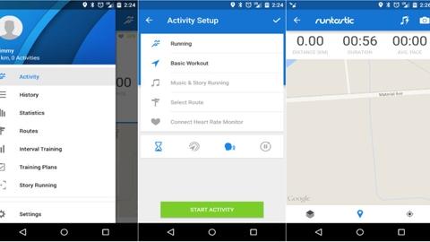 Runtastic Android Uygulaması