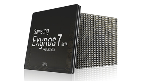 Samsung, 14 nm'lik orta seviye Exynos 7870 çipsetini duyurdu