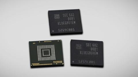 Samsung'dan akıllı telefonlar için 256 GB bellek çipi