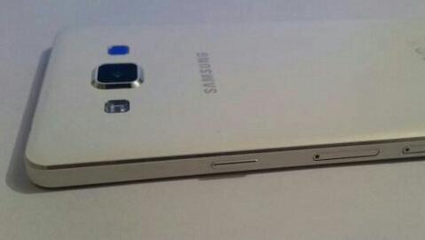 Metalik görünümlü Samsung Galaxy A5 internete sızdı