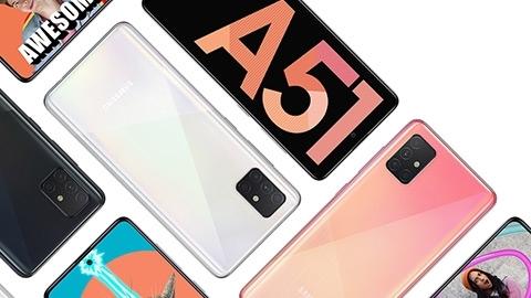 Samsung Galaxy A51 Türkiye'de Satışta!