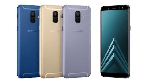 Galaxy A6 ve A6+ tanıtıldı