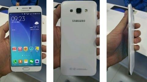 5,9 mm kalınlığındaki Samsung Galaxy A8 görüntülendi