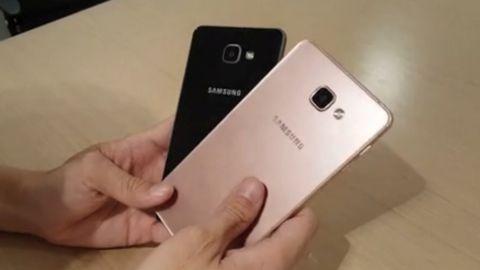 Samsung Galaxy A9'a ait görüntüleri internete sızdı