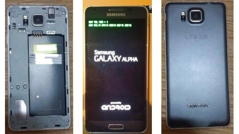 iPhone 6'ya rakip metal çerçeveli Samsung Galaxy Alpha sızdı