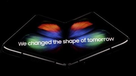 Samsung'un 7,3 inçlik katlanabilir telefonu Galaxy Fold tanıtıldı
