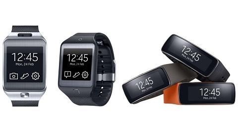 Samsung Galaxy Gear, Gear 2, Gear 2 Neo, Gear Fit karşılaştırması