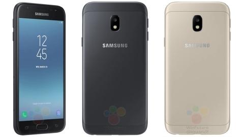 Galaxy J3 2017'nin küresel versiyonu görüntülendi