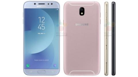 Galaxy J7 2017'nin küresel versiyonu ilk defa görüntülendi