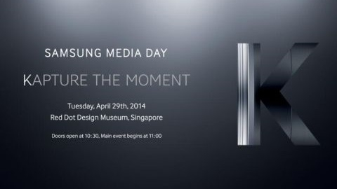 Samsung'un Galaxy K kamera telefonu 29 Nisan'da tanıtılacak