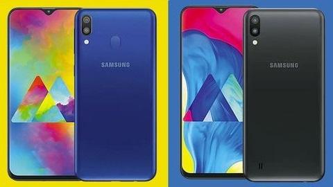 V şeklinde ekran çentiğine sahip Samsung Galaxy M10 ve M20 tanıtıldı