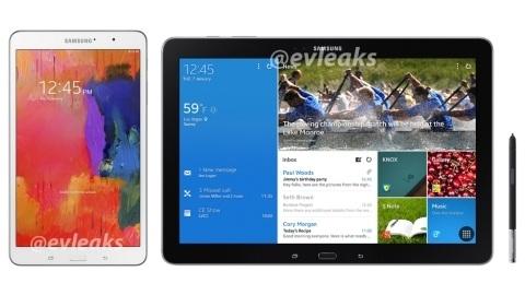 Samsung Galaxy Note PRO ve Galaxy Tab PRO tabletler sızdı