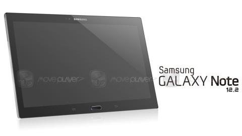 Samsung Galaxy Note 12.2'nin ilk basın görseli