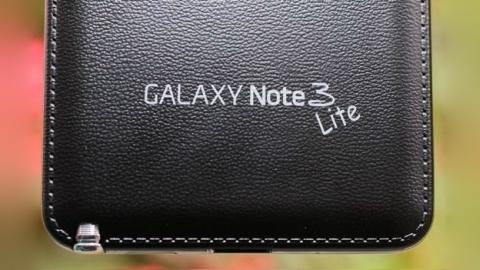 Galaxy Note 3 Lite, HD çözünürlüklü bir ekrana sahip olacak