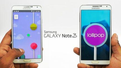 Samsung Galaxy Note 3 Android 5.0 Lollipop güncelleme rehberi