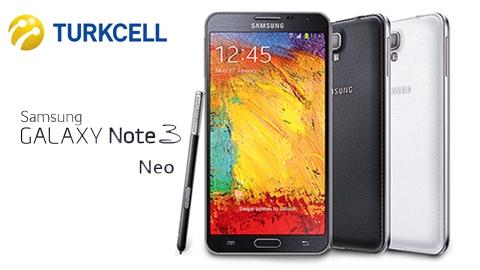 Samsung Galaxy Note 3 Neo Turkcell Kampanyası