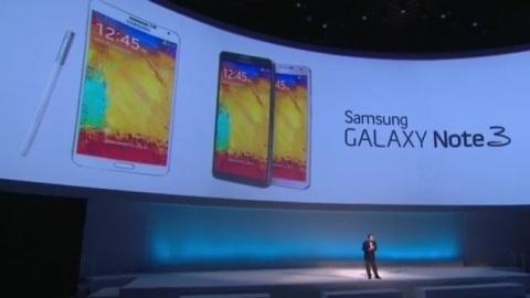 Samsung Galaxy Note 3 tanıtıldı
