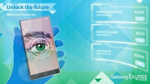 Samsung, Galaxy Note 4'ün göz tarama teknolojisini doğruladı