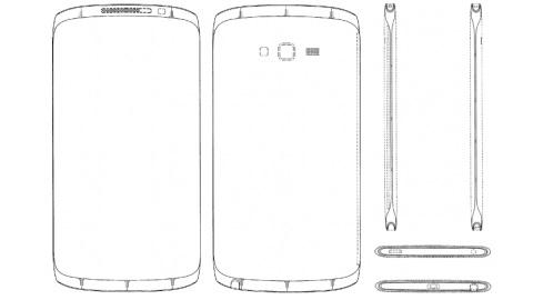 Galaxy Note 4'e ait olduğu iddia edilen tasarım patenti yayımlandı