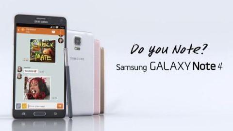 Samsung'un yeni Galaxy Note 4 televizyon reklamları yayınlandı