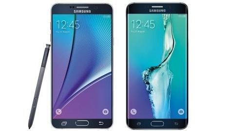 Galaxy S6 edge+ ve Galaxy Note 5'in ilk basın görüntüleri