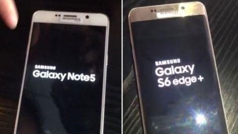 Galaxy Note 5 ve S6 edge+ yeni prototip görüntüleriyle internete sızdı