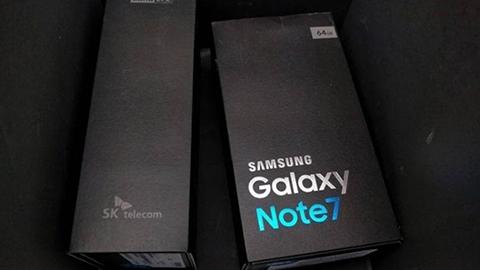 Galaxy Note 7'nin kutu görüntüleri ve canlı yayın bağlantısı