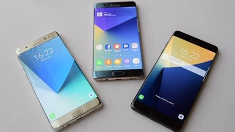 Kavisli ekrana sahip Galaxy Note 7 tanıtıldı