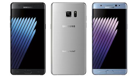 Galaxy Note 7'nin ilk resmi görüntüsü