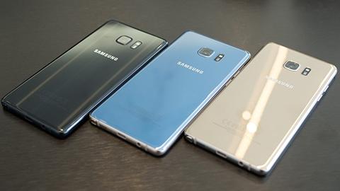 Geri çağrılan Galaxy Note 7'ler eylül sonunda devre dışı kalacak