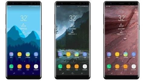 Galaxy Note 8'den ilk render görüntü