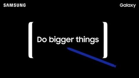 Galaxy Note 8'in tanıtım tarihi açıklandı