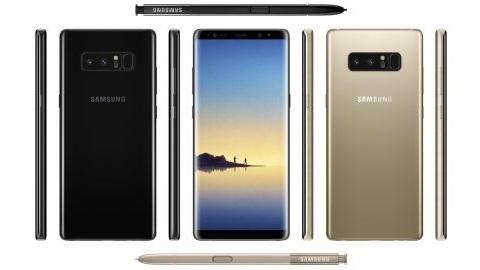 Samsung Galaxy Note 8'in performans test sonucu yayımlandı