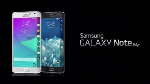 Esnek OLED ekranlı Samsung Galaxy Note Edge gün yüzüne çıktı