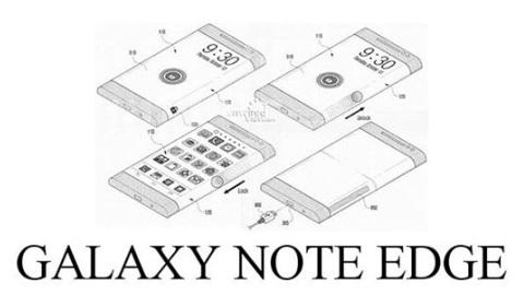 Samsung, Galaxy Note Edge adlı bir telefon hazırlıyor
