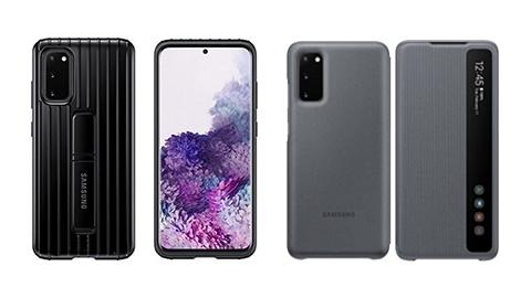 Samsung Galaxy S20 Ailesinin Resmi Kılıfları Ortaya Çıktı!