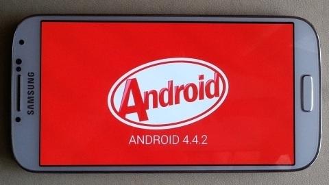 Galaxy S4 için Android 4.4.2 KitKat işletim sistemli yazılım sızdı