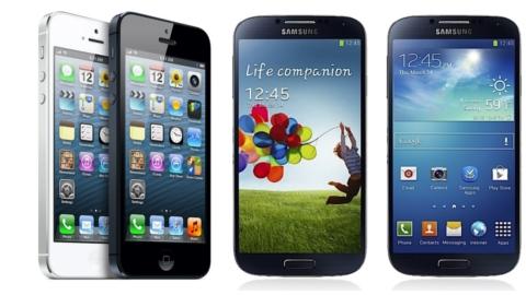 Samsung Galaxy S4 - Apple iPhone 5 karşılaştırması düşme testi